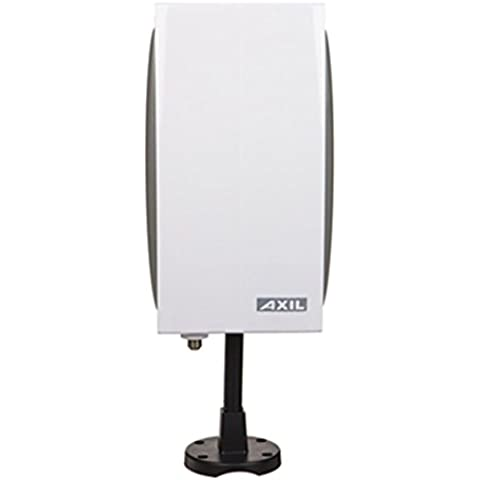 Engel ANO264L - Antena TDT (hasta 46 dBi, exterior e interior), color blanco