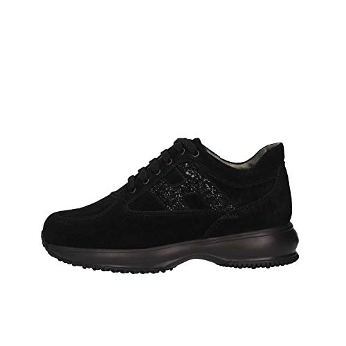 Hogan Junior HXC00N0O240GHMB999 Sneakers Bambina Nero 33