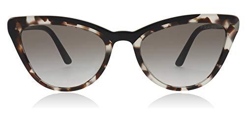 5c478745f2 Prada 0PR 01VS Gafas de sol, Opal Spotted Brown/Black, 56 para Mujer