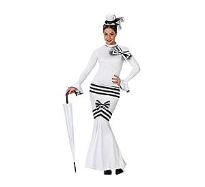 Atosa- Disfraz Dama Inglesa, Multicolor, M-L (22647)