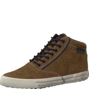s. Oliver signor scarpe 5-15240-27-Sneaker da uomo, stringate basse Boots, Boots, Stivali, marrone (Cognac Antic), 46 EU
