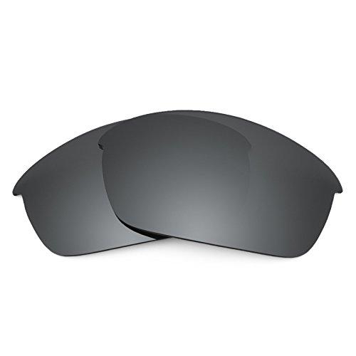 Revant Ersatzlinsen für Oakley Flak Jacket Polarisierung Elite Schwarz Chrom MirrorShield®