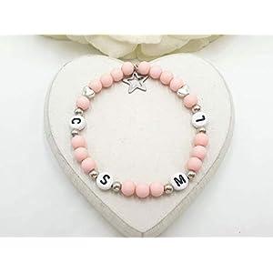 Armband Initialen, Armband Lieblingsmenschen, Familienarmband, Armband Buchstaben, Armband Herzensmenschen