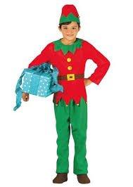 Costume da elfo bambino 7-9 anni