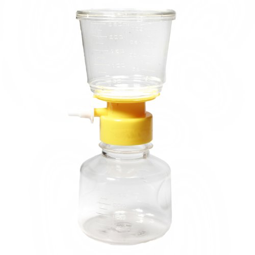 Filtration Unit (Argos steril Flasche Top entlüfters Vakuum Filtration unit-assorted, farblos, 12)