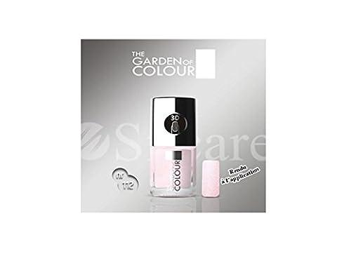 Vernis ongles nail - Rose paillette Effet Sable 3D - N°112 - Mini G.O.COLOR
