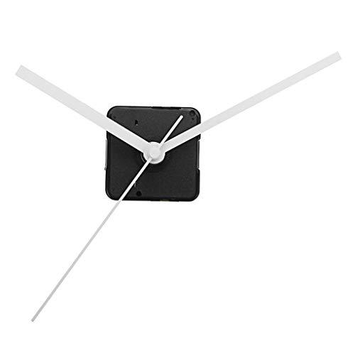Yongse 20 mm Shaft DIY weiße Hände, Quarz-Uhrwerk, leise, mechanisch, Reparatur von Uhren, Münzen