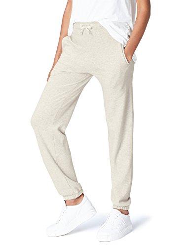 FIND Pantalón de Deporte para Mujer , Gris (Oatmeal Marl), 40 (Talla del fabricante: Medium)