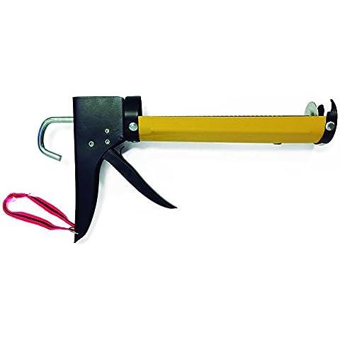 Unecol 7612 - Pistola de silicona reforzada color amarillo