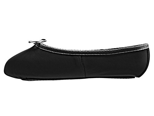 Adults & Childs Black Leather Full Sole Ballet Shoes All Sizes By...