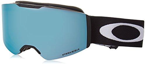 Oakley Unisex-Erwachsene Fall Line 708504 0 Sportbrille, Schwarz (Matte Black/Prizmsnowsapphireiridium), 99