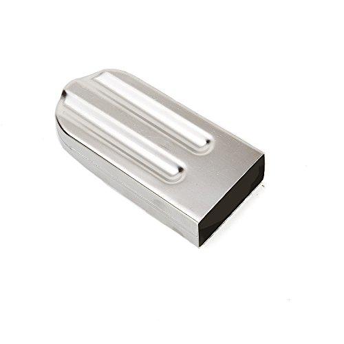 Baffect Edelstahl Eis am Stiel-Form mit Stickhalter DIY Eiscreme-Form 85g (rund)