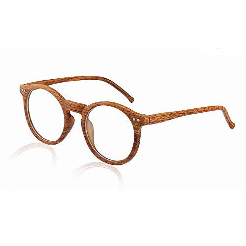 Übergang photochrome optische Gläser Imitation Holz Myopie Hyperopie - Rx + Rx Benutzerdefinierte Stärke Lesebrille Retro Nerd UV400 Sonnenbrille