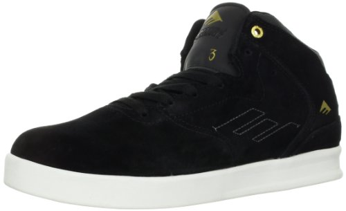 Emerica  THE REYNOLDS,  Sneaker uomo Nero (Schwarz (black/white 090))