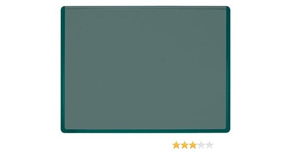 51 x 65 cm Veloflex 4682040 verde Sottomano da scrivania Velodesk Business plus con pellicola di copertura trasparente