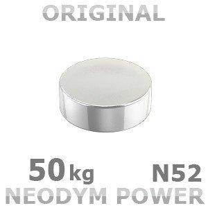 Neodym Power Magnet 30x10mm N52 50Kg 1stk. von Ricoo bei Lampenhans.de