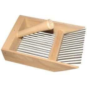 Peigne cueille myrtilles - bois - petit modèle