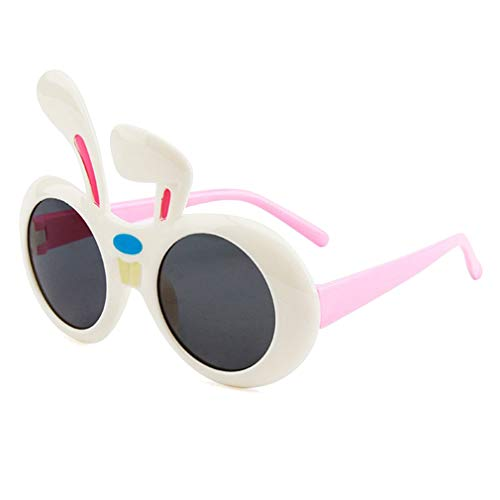 Kunfang Kinder Party Sonnenbrille Mädchen Niedlichen Cartoon Kaninchen Sonnenbrille UV400...