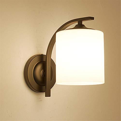 Wandlampe LED Wandleuchte Modern Up Down im modern Stil innen kompakt Aluminium für Beleuchtung Wohnzimmer Wohnzimmer Schlafzimmer Treppenhaus Flur/Europäischen Stil_Mit Lichtquelle