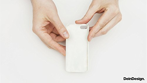 Apple iPhone 4 Housse Étui Silicone Coque Protection Rétro Mur Bandes CasDur transparent