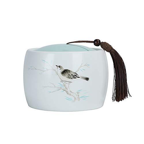 WEI Urnen Funeral Cremation Memorial Ding Ofen Keramik Medium Souvenir Liebhaber Oder Geliebten Haustier Asche Versiegelt Tank Nach Hause for dog or cat -