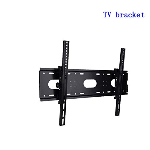 Exing TV Wall Bracket, Universal 75 KG TV Wall Mount Bracket Fixed Flat Panel TV Stand Holder Frame für 32-85 Zoll Plasma HDTV LCD LED-Monitor MAX VESA 700 * 500mm Hdtv Flat Panel Plasma Tv