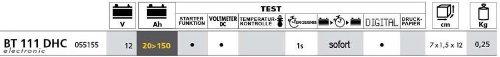 gewerblicher Batterietester – Batterietestgerät BT 111 KFZ 12 V 20-150Ah - 3