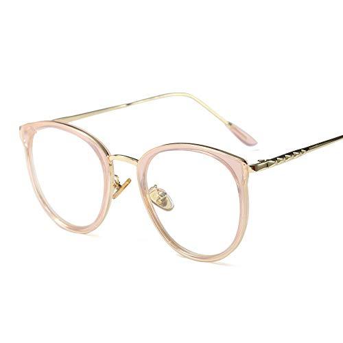 Yiph-Sunglass Damen Brillengestell Klar/Rosa transparent/pink