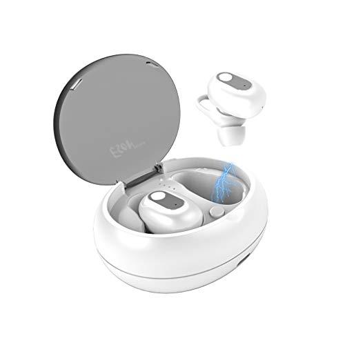 Earbuds LCLrute TWS True Wireless V5.0 mit Ladekoffer Kopfhörer Noise Cancelling, wasserdichte kabellose Kopfhörer Deep Bass Stereo Sound Headset -
