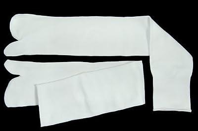 Japonés sandalia calcetines tamaño blanco superior Unisex (UK7-11)