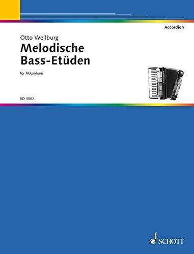 Melodische Bass Études Accordeon