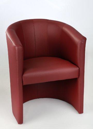 essel Sessel Clubsessel Loungesessel Club Möbel Bürosessel Praxismöbel Bordeaux ()