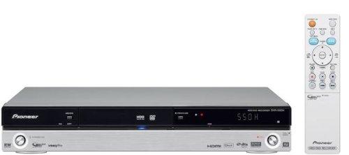 Pioneer DVR 550 H S DVD- und Festplatten-Rekorder 160 GB (Upscaling 1080i, HDMI, USB, DivX-zertifiziert) silber (Dvr 160gb Festplatte)