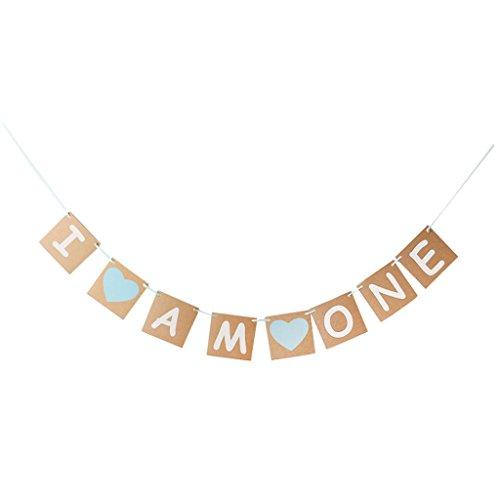 gazechimp-i-am-one-bunting-girlande-banner-baby-erste-geburtstagsparty-dekoration
