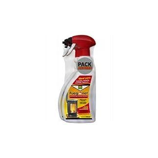 FuegoNet Limpiador para cristales de estufas Pack 2×750 ml