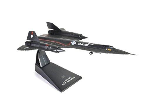 Atlas Lockheed SR-71 Blackbird US Air Force 1966-1990 Militärflugzeug, Bomber des Zweiten Weltkriegs 1/144 (Ref: Jet.4675103) Us-bomber