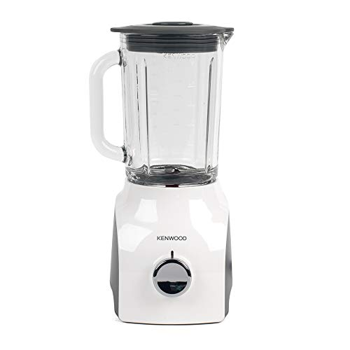 31fPILTUakL. SS500  - Kenwood 0W22310032 BLP600 Thermo-Resistant Blender with Variable Speed Settings, 800 W, White, Stainless Steel, 1.5 liters