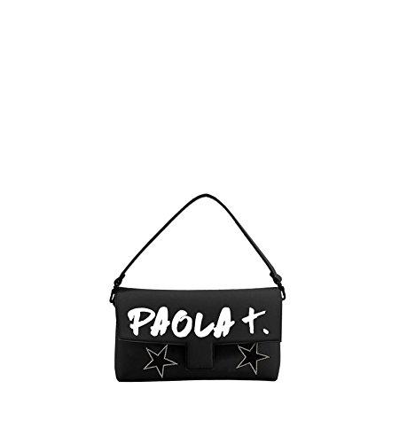 PAOLA T. - Baguette Neoprene Nero Paola T Nero