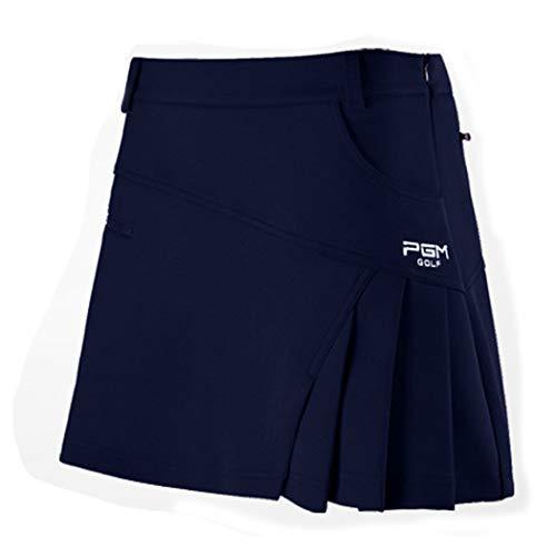 JTIH® Golf Apparel Golfbekleidung Damen Sportswear Golfröcke Fashion-Faltenröcke Gefütterte Sicherheitshosenröcke (4,XS)