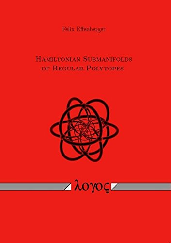 Hamiltonian submanifolds of regular polytopes