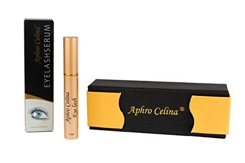 Aphro Celina EYELASHSERUM - für das aktive Wachstum Ihrer Wimpern 3ml mit BeautyBox