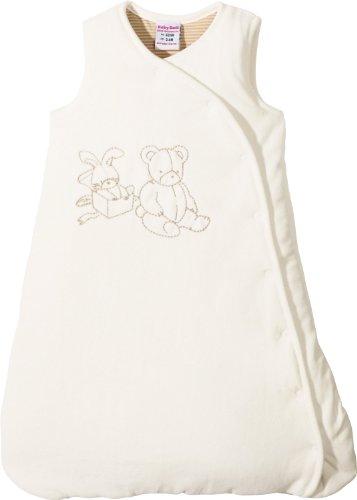 Baby Butt Nicki-Schlafsack mit Stickerei Bär + Hase