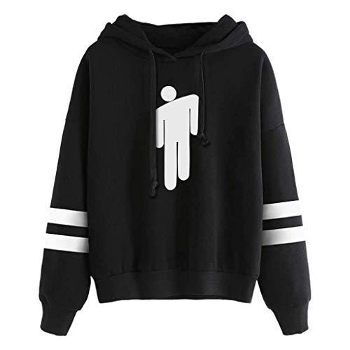 ➤Refill➤ Musikmerch Hoodies,Billie Eilish Hoodie Sweatshirt Graphic Hoodies Pullover Lässige Mode Lustige Kapuzenpullover Tops Kleidung