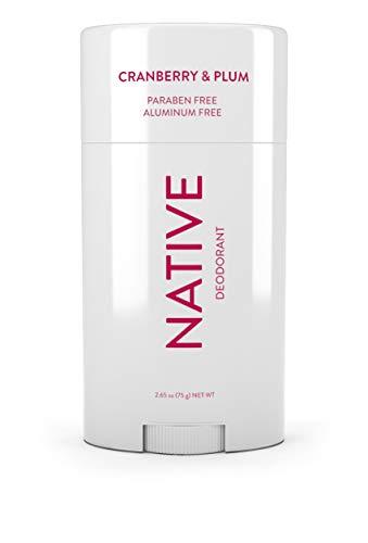 Native Deodorant - Natural Deodorant Made without Aluminum & Parabens - Cranberry & Plum