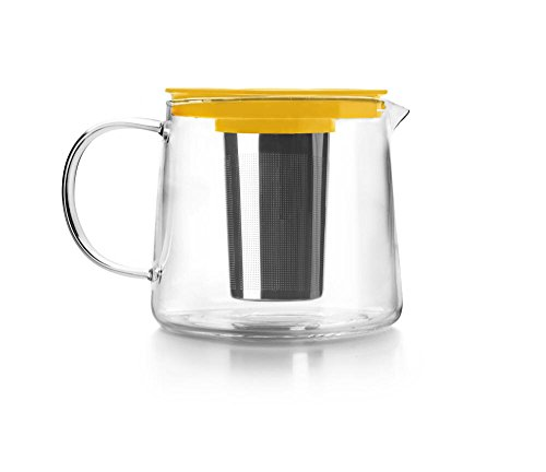 IBILI Kristall Tee Boiler mit Filter, 1000ml, 30x 13x 12cm