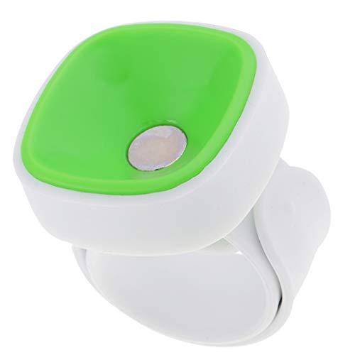 Baoblaze Handgelenk Sortiert Magnetischer Pin Halter, Armnadelkissen Magnet - Grün