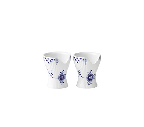 Royal Copenhagen Blue Elements Egg Cup 2pc - Royal Copenhagen Elements