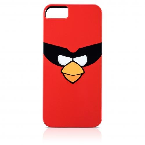 Gear4 Angry Bird Schutzhülle Cover Red Bird für Apple iPhone 5 Angry Birds Iphone