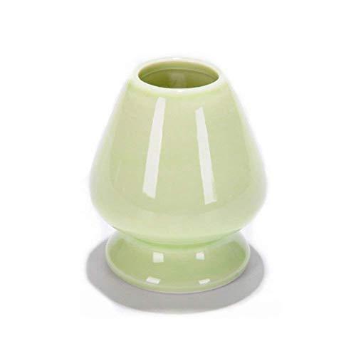 ZYCX123 Titular cerámica Matcha Bata Soporte té