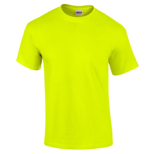 Direct 23 Ltd Gildan Mens Neon T-Shirt